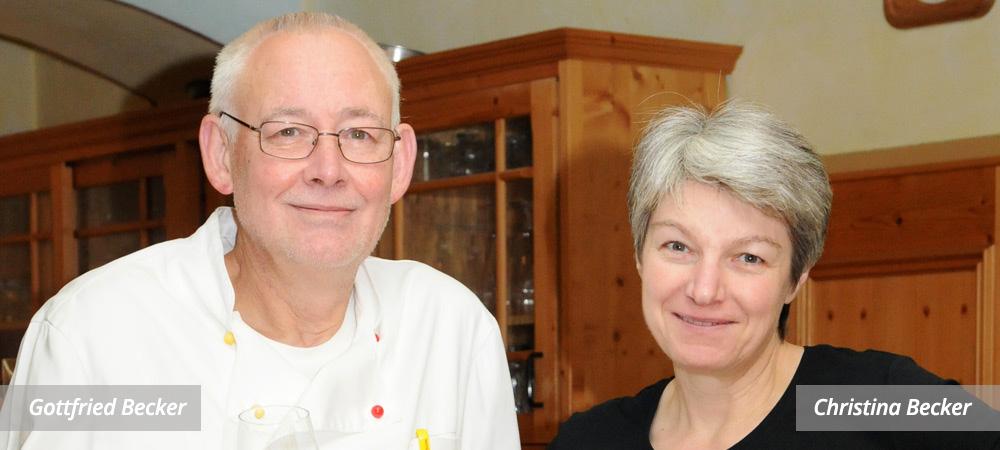 Christina und Gottfried Becker